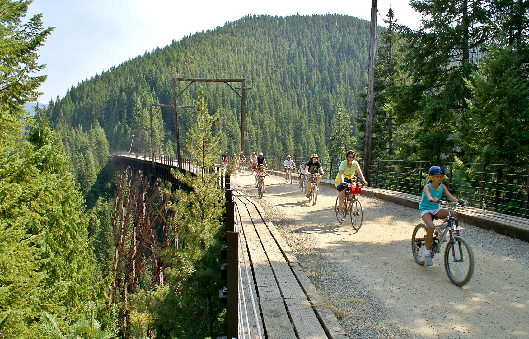 Route of the Hiawatha Idaho Biking Adventure