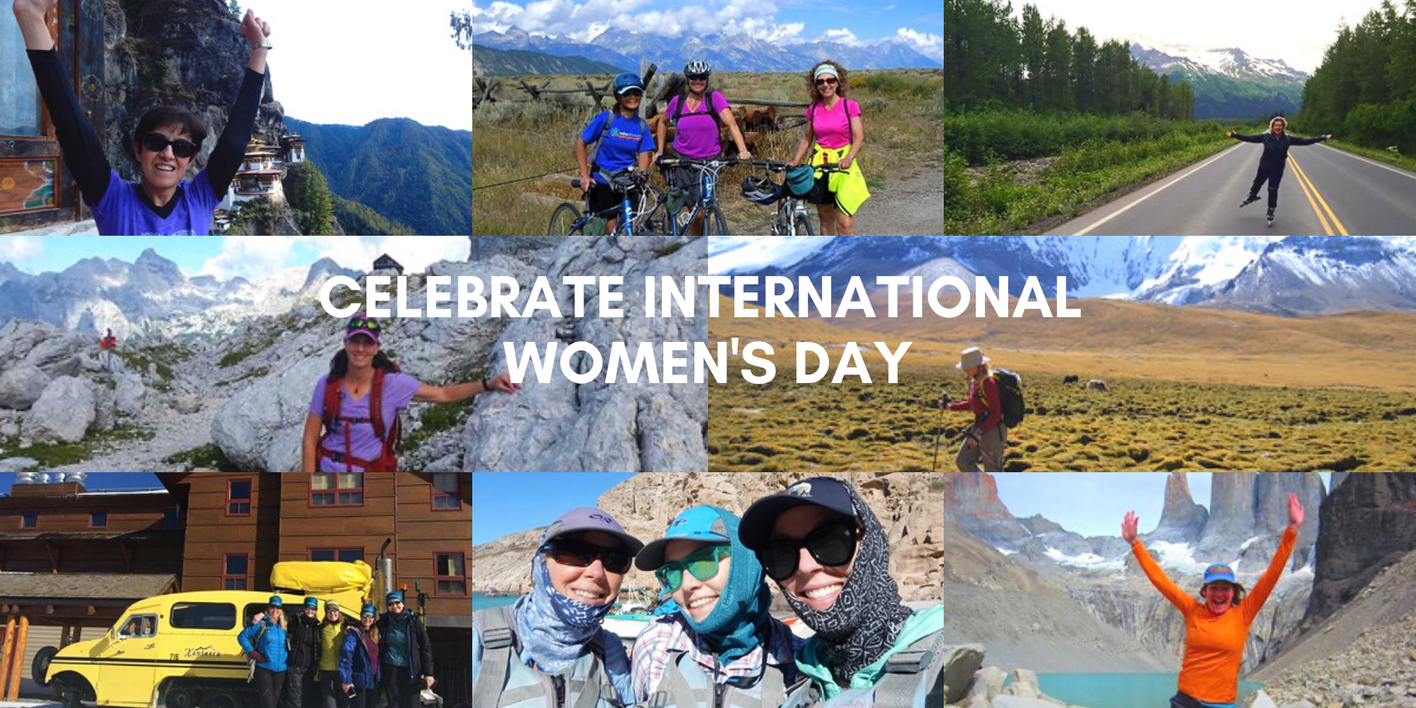 Celebrating Adventurous Women on International Women's Day